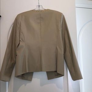 Michael Kors Jackets & Coats - New NWT Michael Kors Cream suit jacket